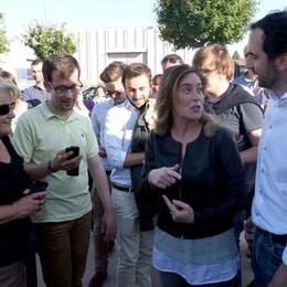 Il ministro Boschi alla festa del Pd Video intervista: «Sicurezza, più risorse»