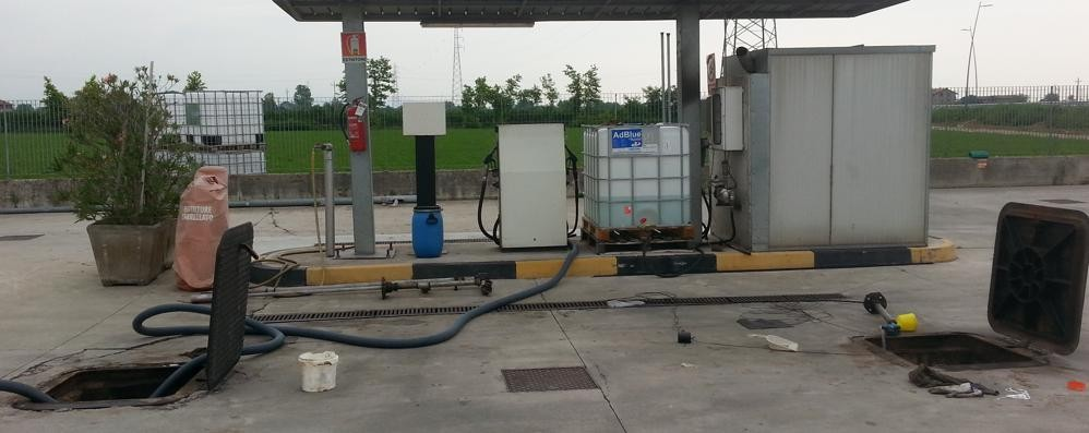 La banda del gasolio colpisce a Zanica Spariti 25 mila litri di carburante