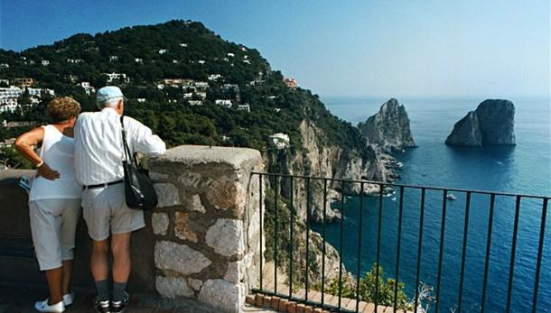 Rimosso il blocco delle barche a Capri