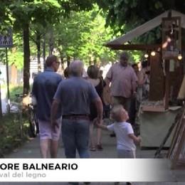 Trescore balneario, 1.o Festival del legno