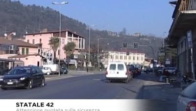 Sicurezza stradale, attenzione puntata sulla Statale 42