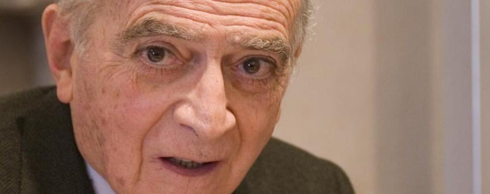 Piero Bassetti oggi a Bergamo «Il mio manifesto per un futuro glocal»
