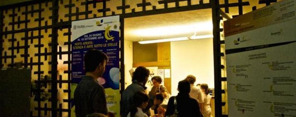 Bergamo apre i musei di notte Ogni sabato un viaggio nella cultura