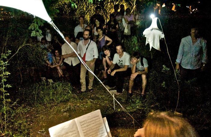 Concerto all'Orto Botanico durante una delle passate edizioni