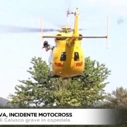 Mantova, incidente con la moto da cross, grave 15enne di Calusco d'Adda