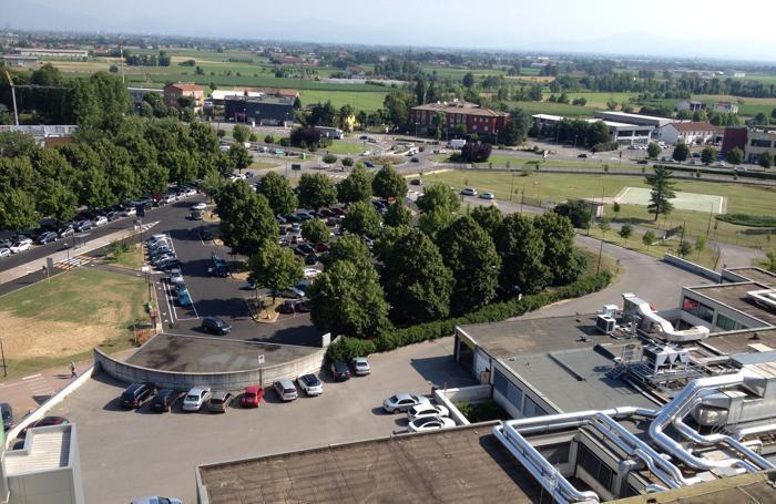 Una panoramica del parcheggio