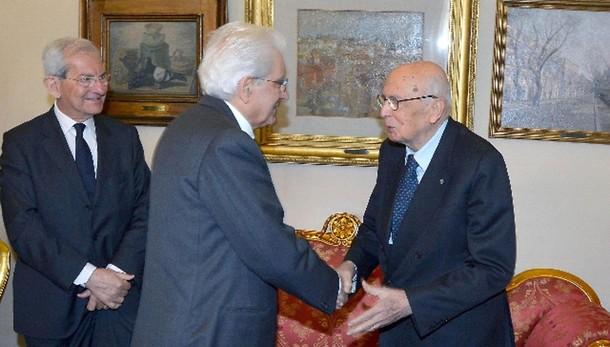 Napolitano:auguri Mattarella per 90 anni
