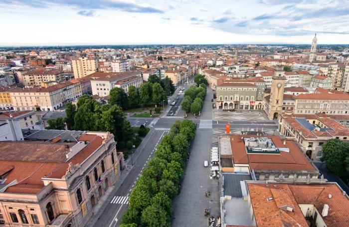 Il centro di Bergamo