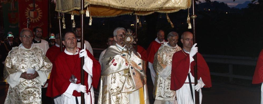 Nella chiesa dei Cappuccini i vespri del Corpus Domini