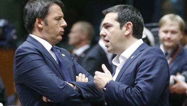 Colloquio telefonico Renzi-Tsipras