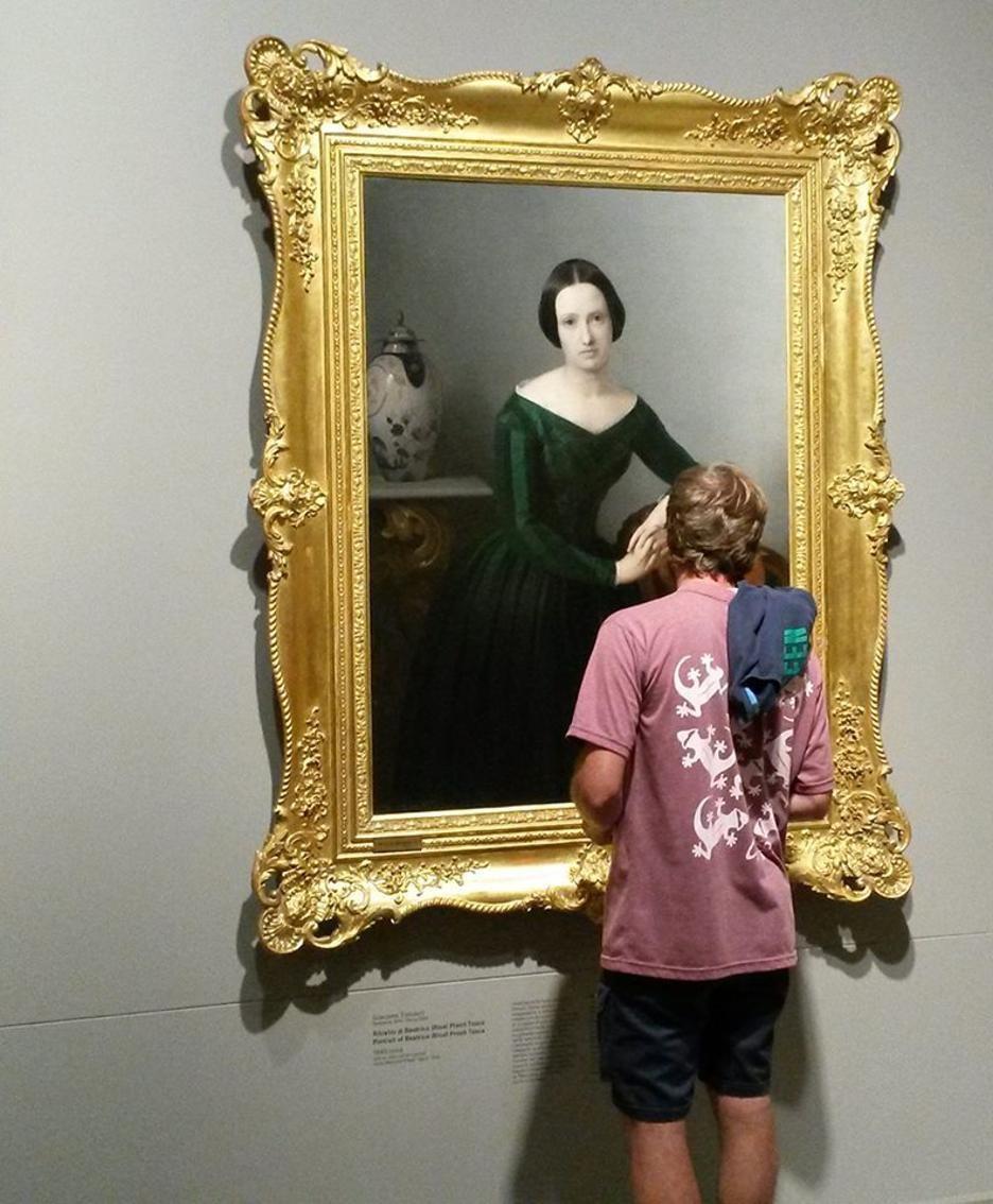 Il Ritratto di Beatrice di Giacomo Trecourt