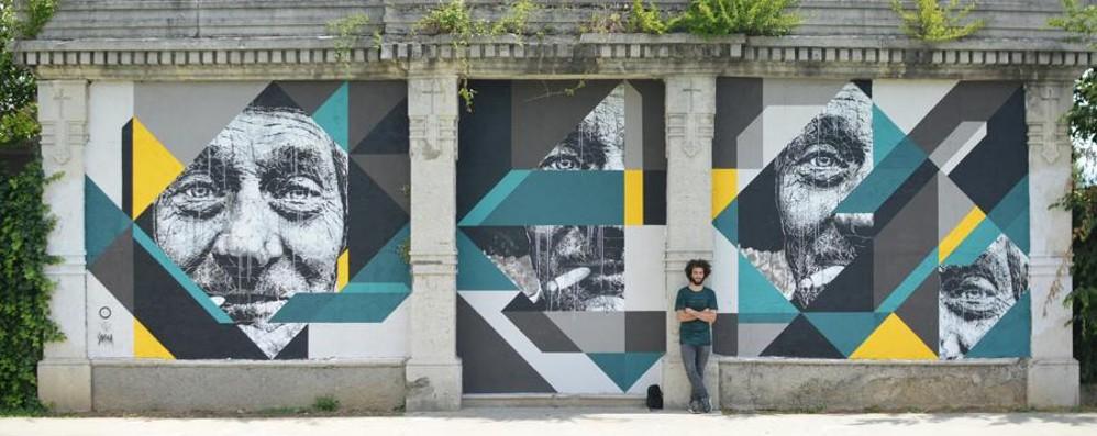«Dona il tuo muro di Bergamo» La riqualificazione con la street art