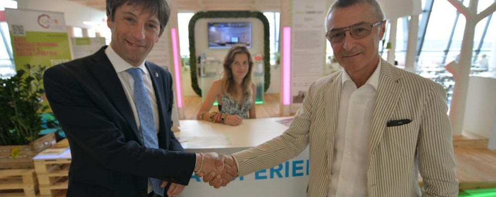 «Green Expo Point» a Orio Per promuovere il Made in Lombardy