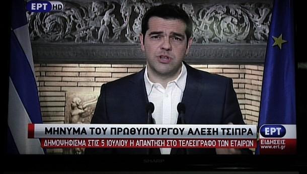 Tsipras riconsidera offerta Juncker