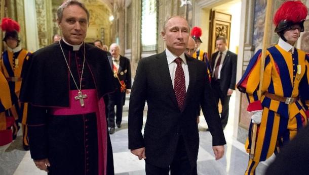 Papa: il 10 giugno riceverà Putin