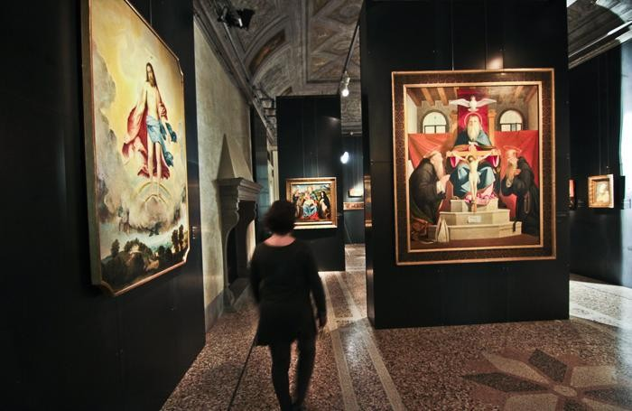 Dall'oro al cielo: mostra al museo Bernareggi di Bergamo