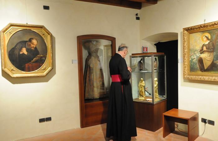 Il museo della basilica di Clusone