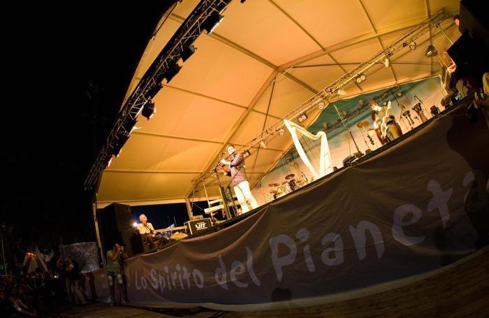 Un concerto a Lo Spirito del Pianeta