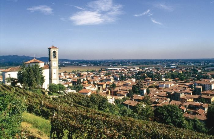 Un panorama di Mapello