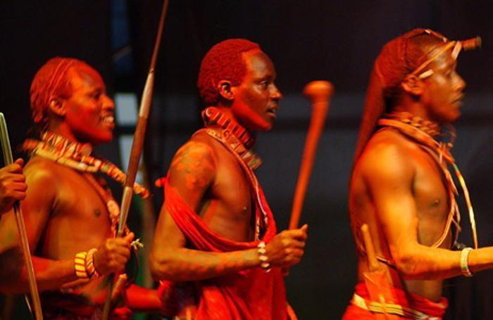 Un gruppo Maasai a Lo spirito del Pianeta