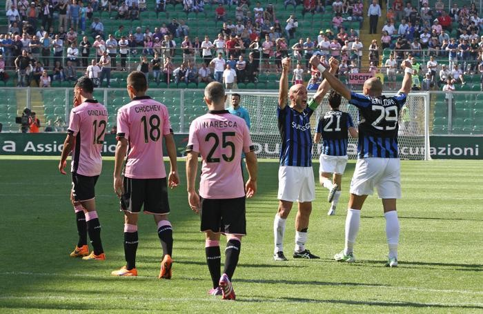 Palermo-Atalanta 2-3, è la salvezza virtuale