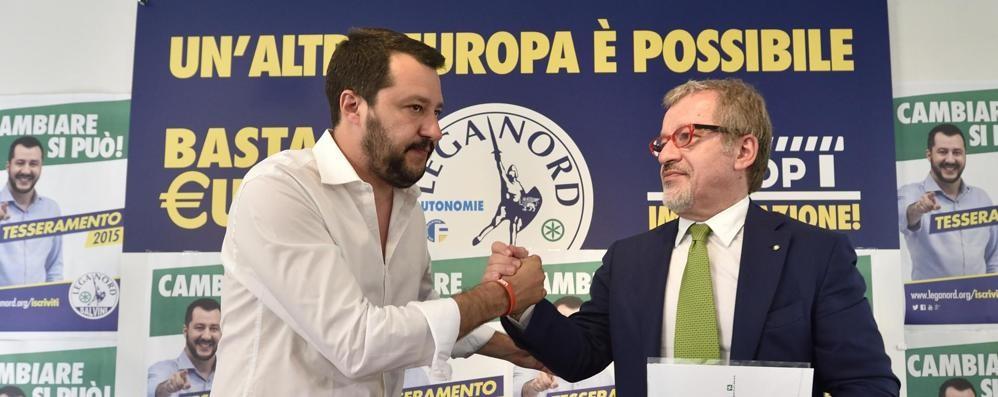 Se Maroni insegue Salvini in fuga