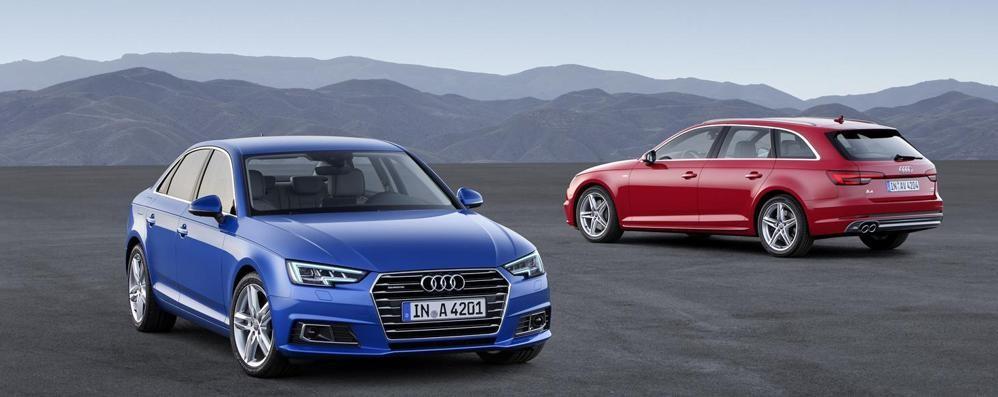 Audi A4 Berlina e Avant Arriveranno in autunno