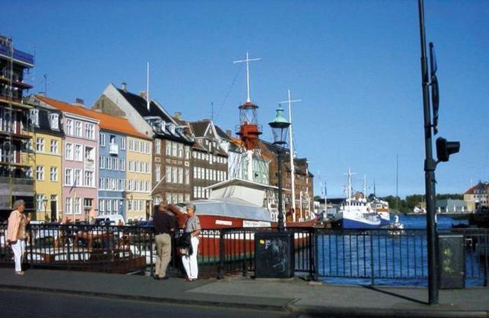 Copenaghen in Danimarca