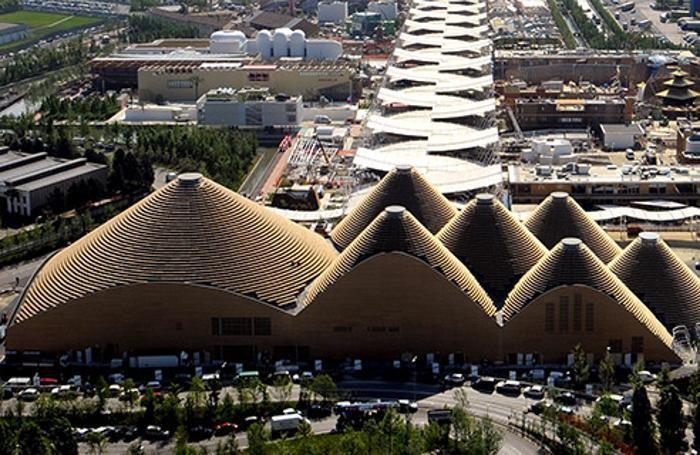 Una panoramica del  Padiglione zero di Expo