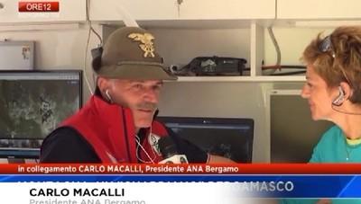 L'ANA di Bergamo a fianco delle truppe alpine nelle esercitazioni sul Falzarego