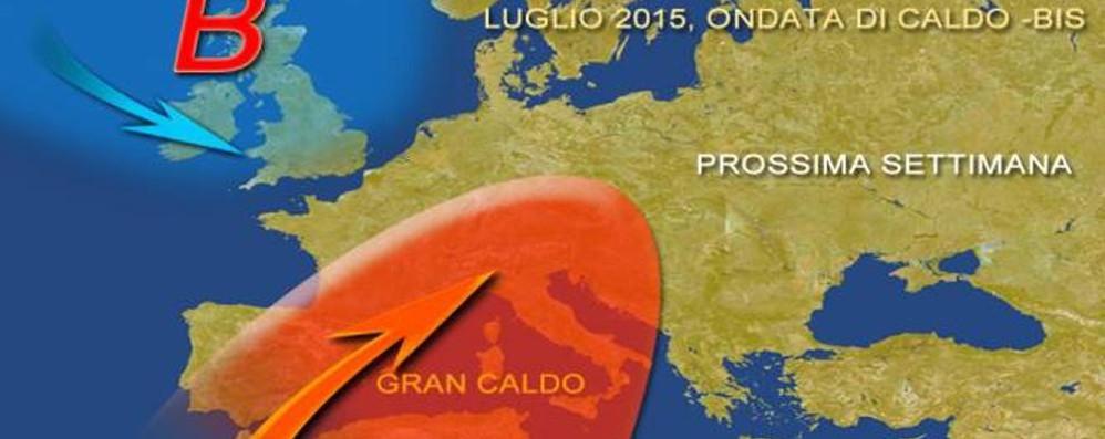 Meteo, gli esperti: torna l'incubo africano Da lunedì rischio di caldo record: fino a 39°