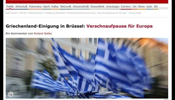 Grecia: Monti, Tsipras ha perso