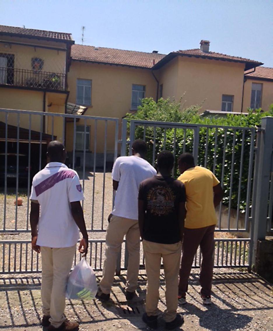 Profughi a Treviglio