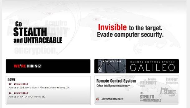 Ad Hacking Team, antiterrorismo salvo