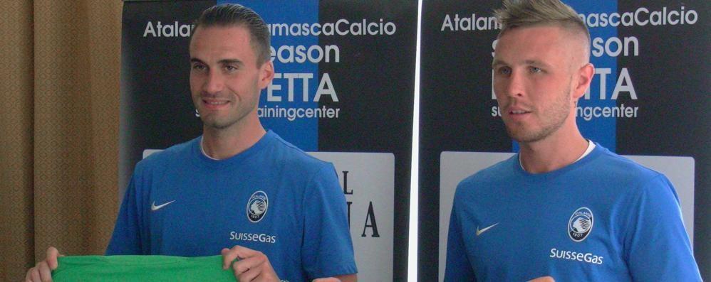 Nuova Atalanta, ecco Bassi e Kurtic «Daremo tutto per la squadra» - Video