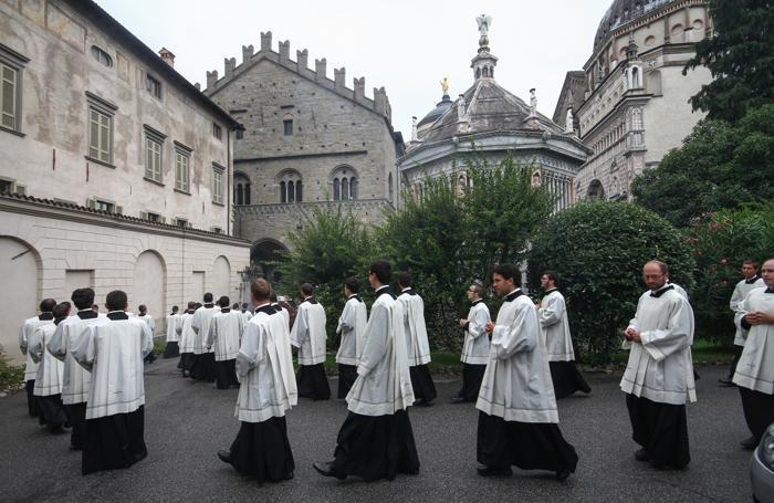 La festa di Sant'Alessandro nel 2014