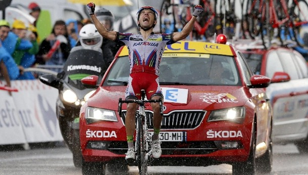 Tour: Rodriguez vince la 12/a tappa