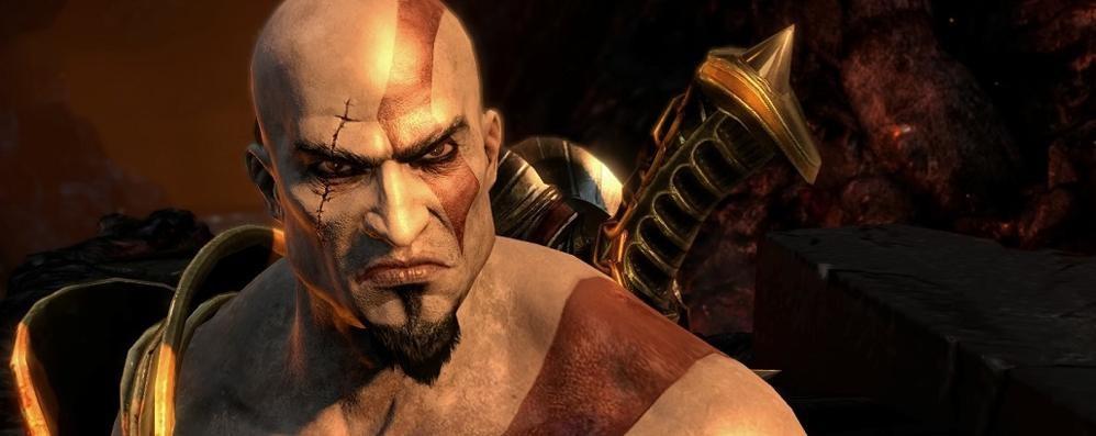 God of War III Remastered Kratos sbarca su PS4