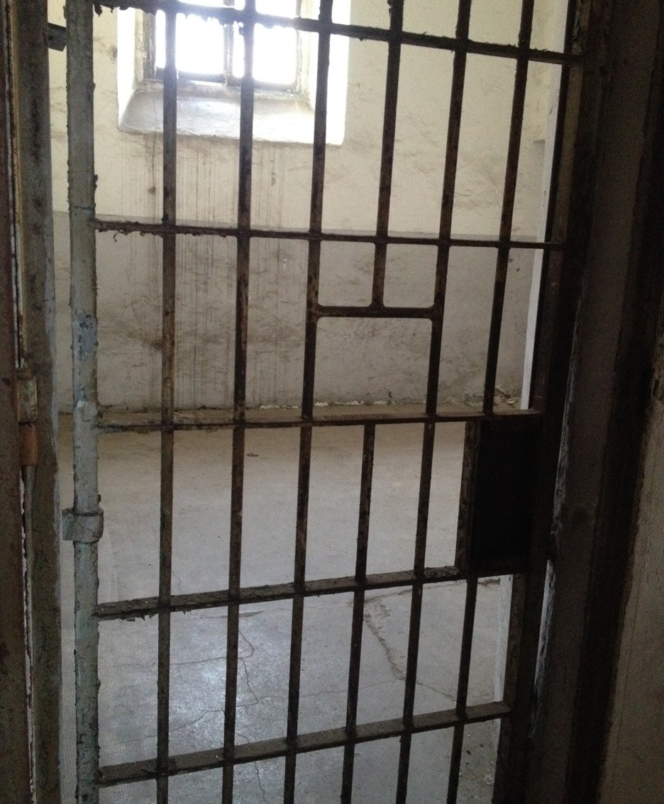 Una cella dell'ex carcere