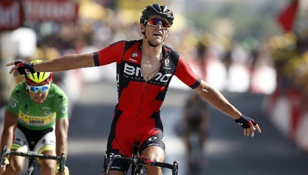 Tour: Van Avermaet vince la 13/a tappa