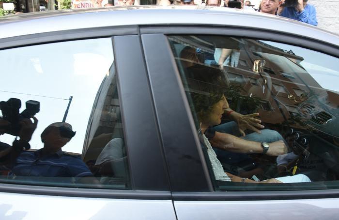 Il pm Letizia Ruggeri al suo arrivo in tribunale