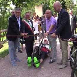 Castione della Presolana: inaugurata una nuova pista ciclopedonale