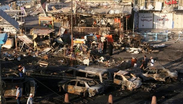 Iraq: 115 morti bilancio attentato