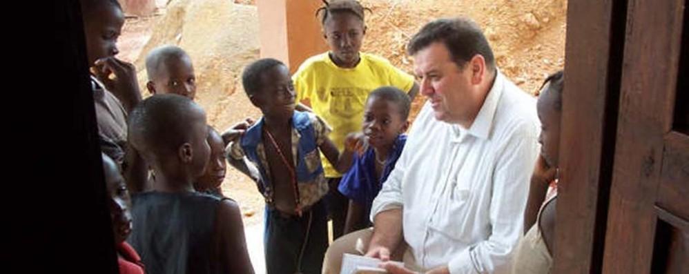 Padre Natale Paganelli è vescovo Da 10 anni tra i poveri in Sierra Leone