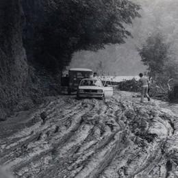 Il fango sulle strade