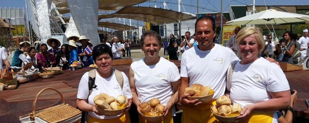 La Giornata del Pane a Expo Brilla l'arte bianca bergamasca