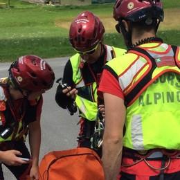 Tre escursionisti in difficoltà recuperati dal Soccorso alpino