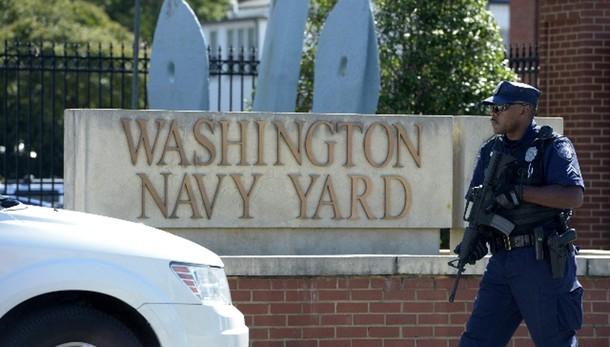 Allarme Washington, spari a sede Marina