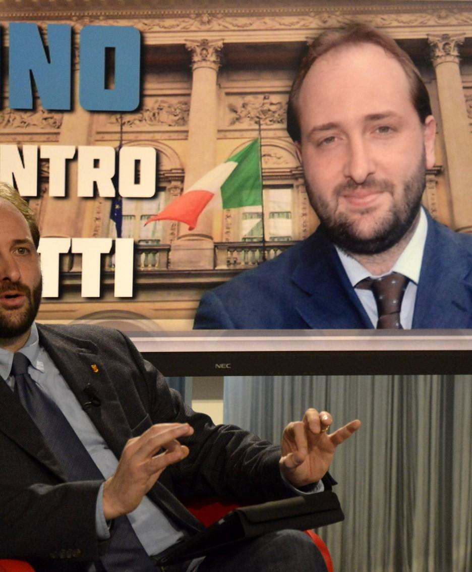 Il presidente della Provincia, Matteo Rossi