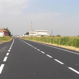 Ok i lavori di viabilità ad Antegnate Riqualificate due ex strade statali